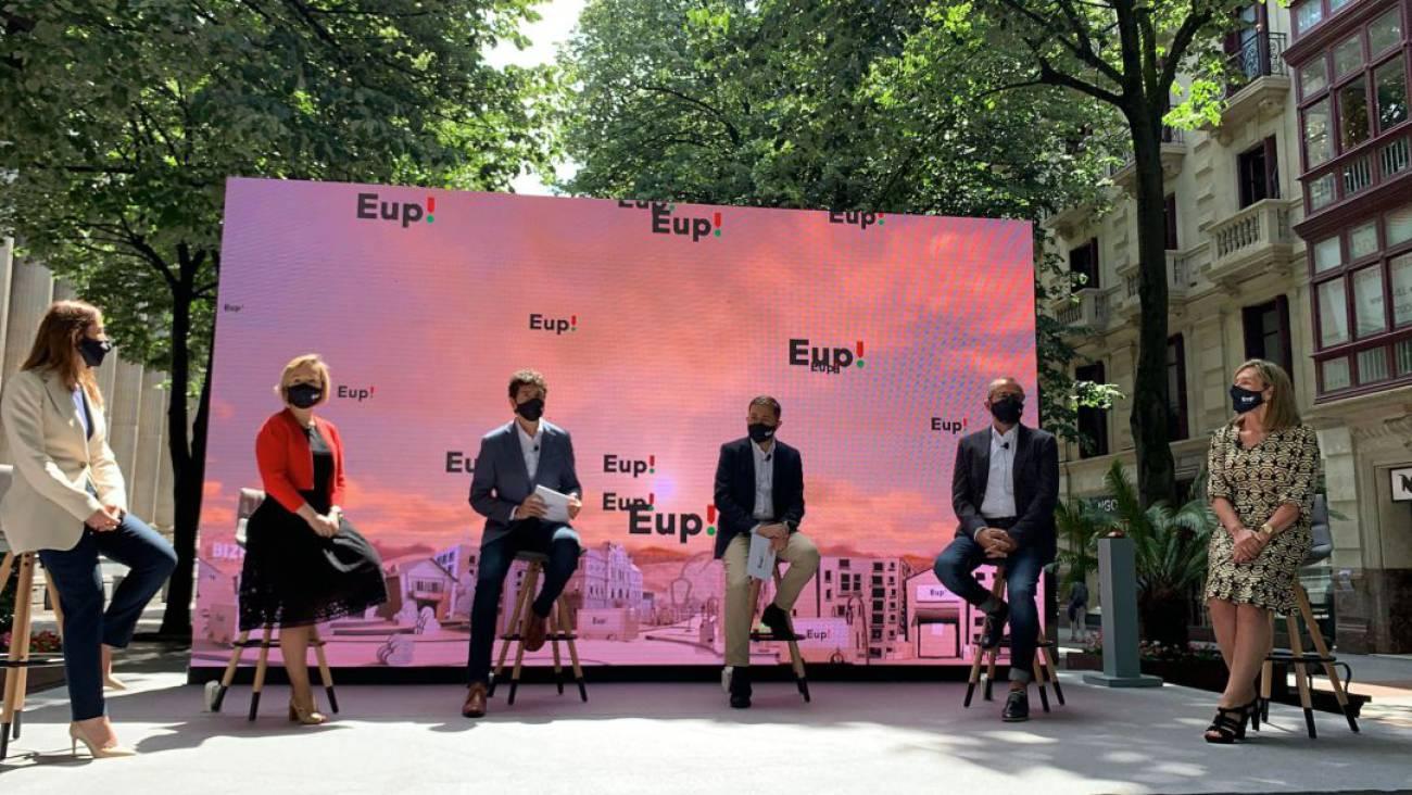 La plataforma de compras 'on line' Eup! inicia su andadura con 3.500 productos de 210 comercios de Bizkaia